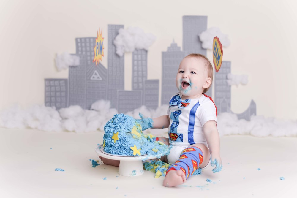 boston baby photographer, boston cake smash photographer