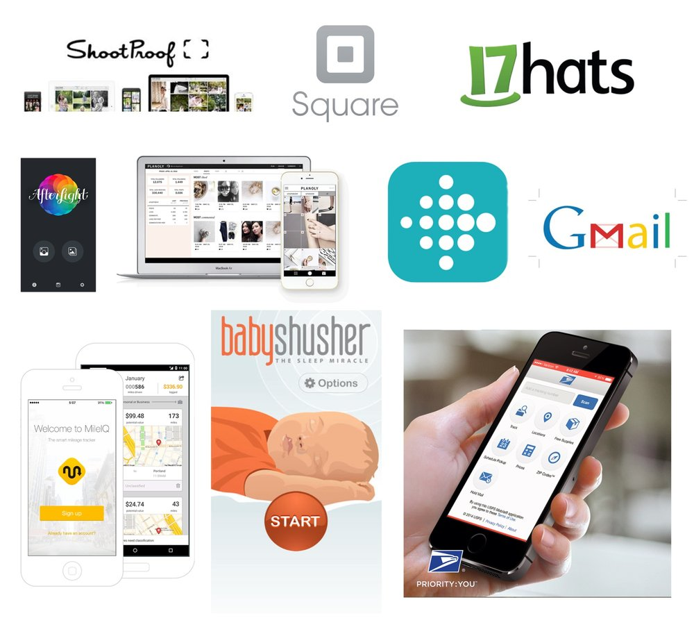 11 helpful apps and systems for small business owners and newborn photographers