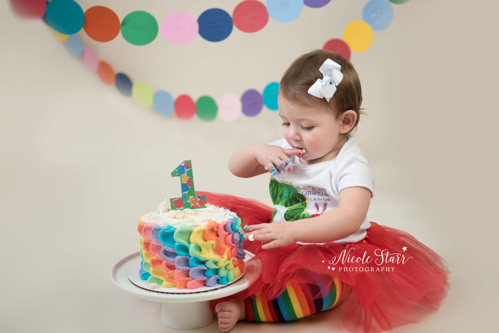 cake smash photographer in saratoga springs clifton park