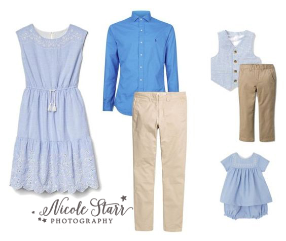 wardrobe ideas for spring family portraits