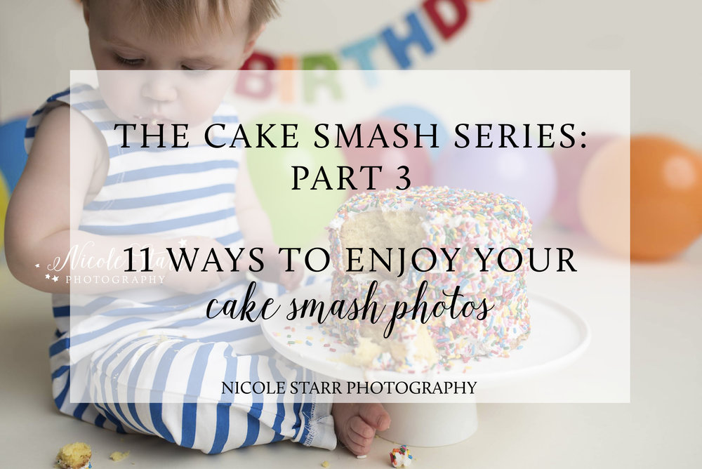 what to do with your cake smash photos, boston baby photographer, first birthday photographer