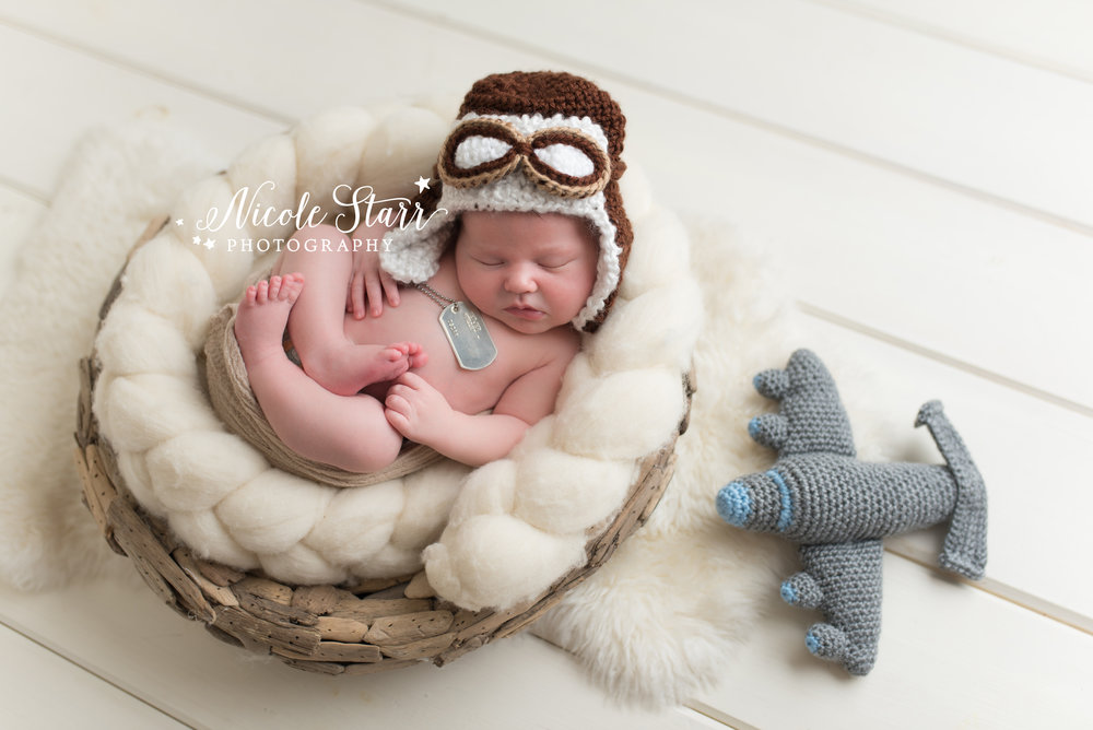 airplane diy baby photography props