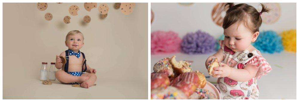 Cake Smash Alternatives, Nicole Starr Photography