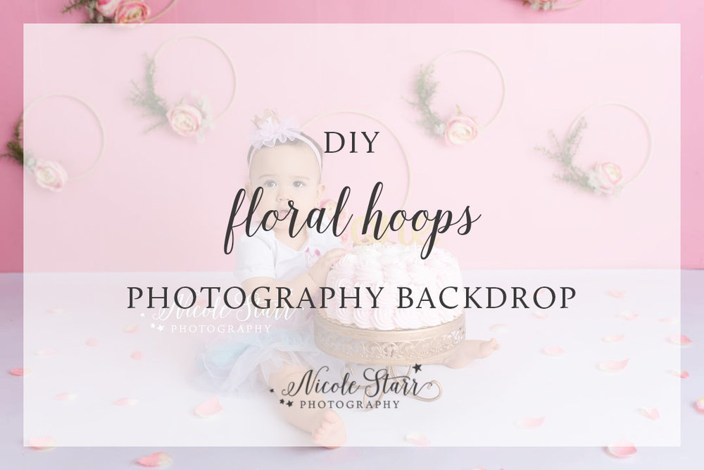 DIY floral hoops tutorial by nicole starr photography