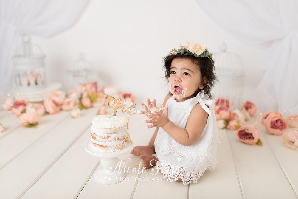 Nicole Starr Photography | Saratoga Springs Cake Smash Photographer | Boston Cake Smash Photographer | Saratoga Springs Family Photographer | Boston Family Photographer | Delmar NY Cake Smash Photographer | Loudonville Cake Smash Photographer