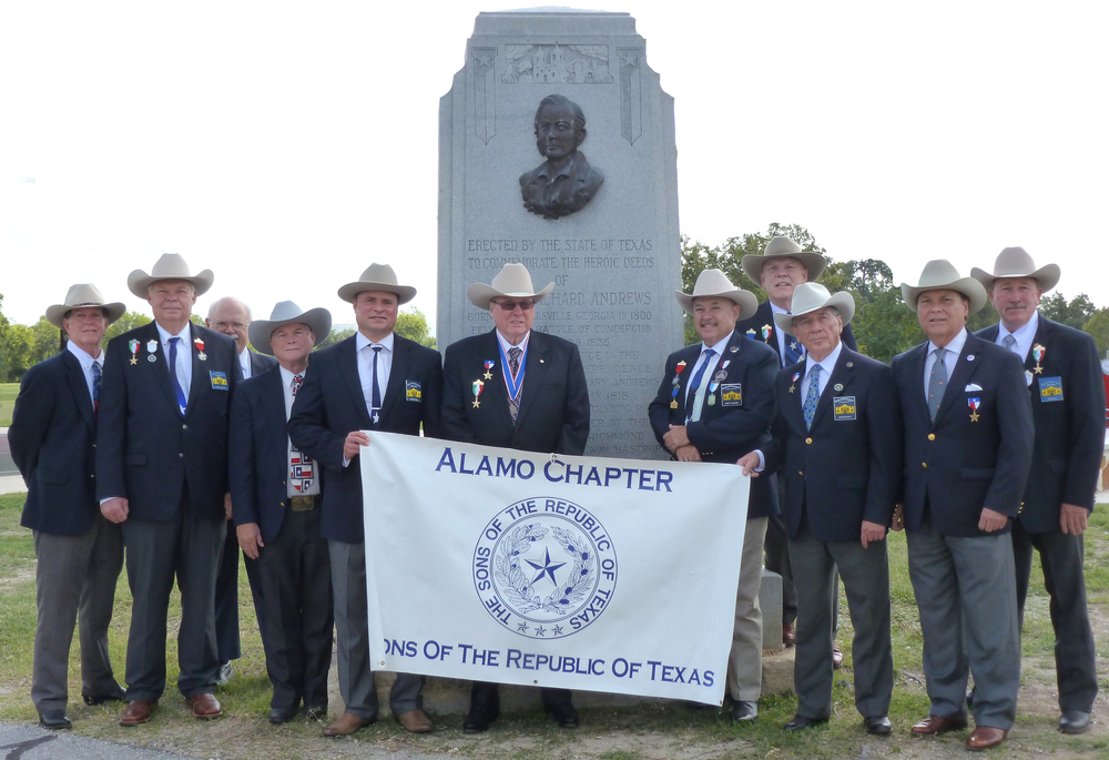 "The Alamo Chapter gathers for the 5th time to honor The Battle of Concepción which was fought on October 28, 1835, between Mexican troops under Colonel Domingo Ugartechea and Texian insurgents led by James Bowie and James Fannin. The 30-minute engagement which has been described as ""the first major engagement of the Texas Revolution"", occurred on the grounds of Mission Concepción, 2 miles south of what is now Downtown San Antonio in the U.S. state of Texas."