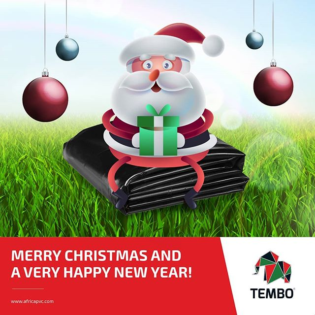 Wishing you and your family a Merry Christmas and a very Happy New Year! Enjoy your holidays!  #Tembo