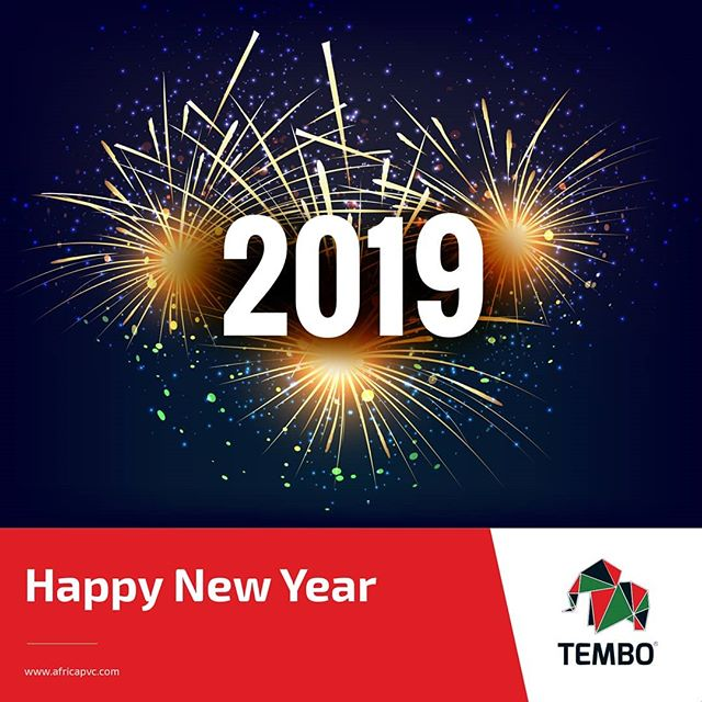 A New Year, A New Start and New Possibilities! We wish you a successful and glorious new year. #TemboAfrica