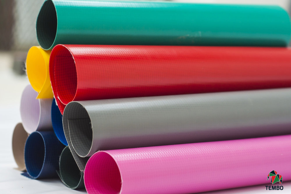 PVC Tarpaulin - High Quality and Durable Laminated PVC Tarpaulin Rolls for various applications.
