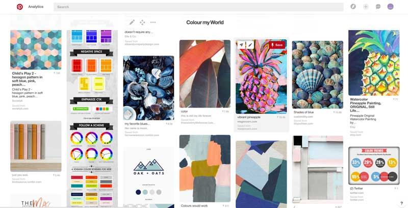 Colour My World: The Amadeus Brand Pinterest Board