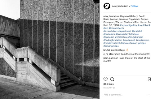 New Brutalism  has curated the most incredible monotone collection of brutalist post-war British architecture
