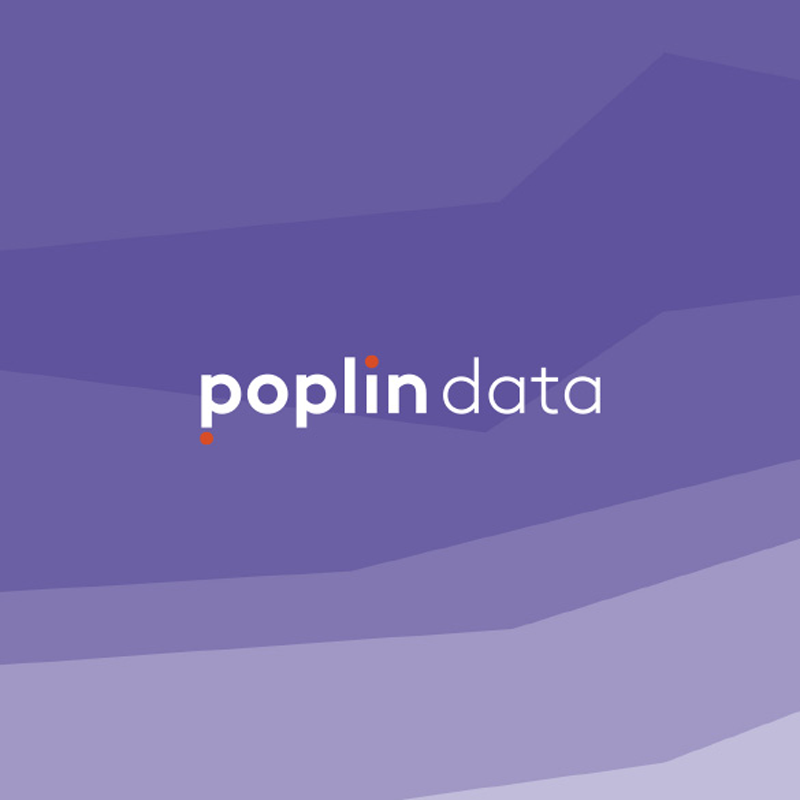 Full Rebrand    POPLIN DATA    View Project