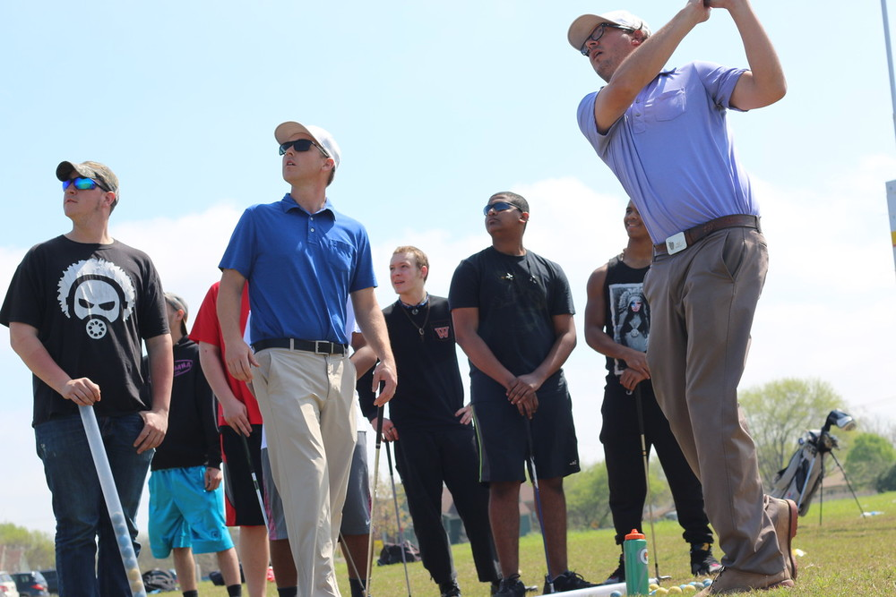 Local golf pros Aaron Bergman and Jaret Lane from Golf In Schools   visited Success High School to teach students in Chris Gottschalk's physical education class the game of golf!