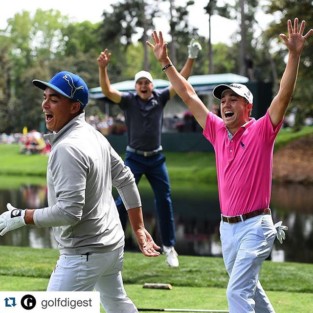 The future of @pgatour golf had a blast today @themasters! Get your young golfer signed up for one of our summer camps or at our indoor studio @the_golfschool today!  #golfinschools  #thegolfschool #golf #atx #austintx #austin #texas #atxgolf #golfing #pga #teacher #teaching #coach #coaching #puma #cobra #edel #keepaustingolfing #golfisfun #themasters #augusta #camps