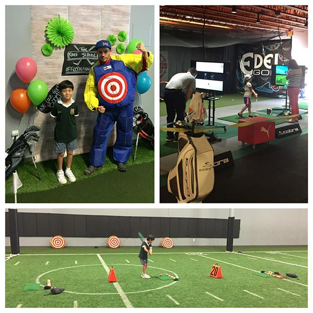 Our Spring Party over the weekend was a huge hit....literally! The kids enjoyed crafts, snacks and games, including hitting shots at Coach Nicholas!  #golfinschools  #thegolfschool #golf #atx #austintx #austin #texas #atxgolf #golfing #pga #teacher #teaching #coach #coaching #puma #cobra #edel #keepaustingolfing #golfisfun #spring #party #springparty #snag
