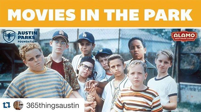 Tonight at 8:20pm there's a free movies in the park, featuring @sandlotseries! #familyfun #golfinschools #funforfree