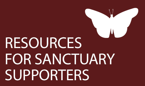 IMIrJ Resources for Sanctuary supporters. New Sanctuary movement in Oregon