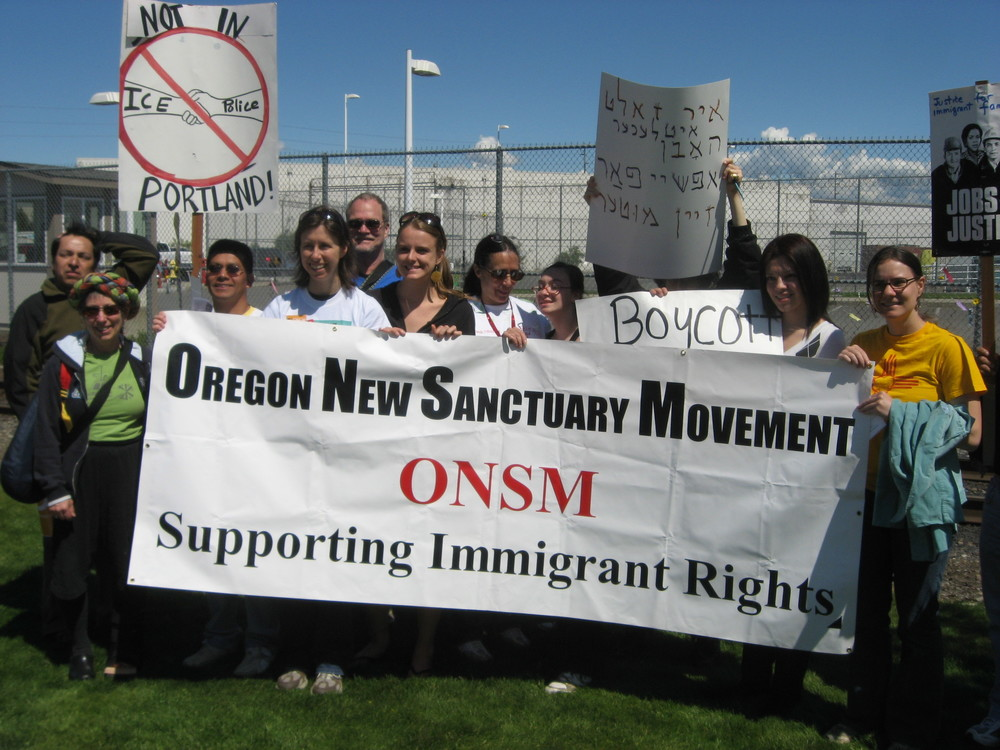 Mother's Day Protest at the Immigration Detention Center in Tacoma