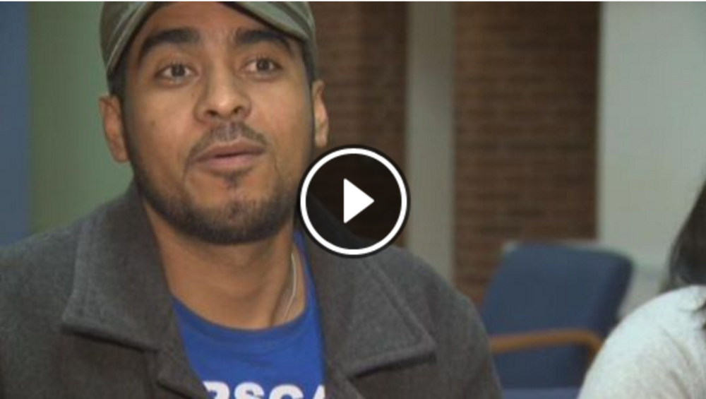 Francisco leaves Sanctuary in Portland after 80 days / KGW News, Portland, OR. (Watch on the KGW News website)