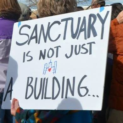 #SanctuaryRising - National New Sanctuary Movement 2017