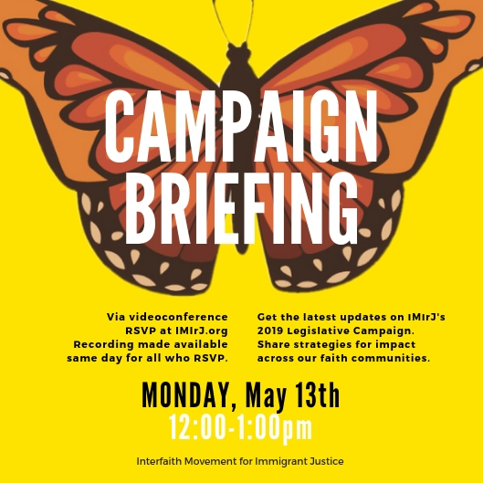 Join our May 2019 campaign briefing - Monday, May 13thRSVP and we'll send you the log-in info and recording, in case you can't make it in real-time.
