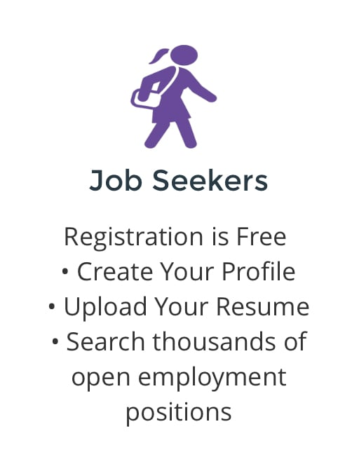 CLICK ABOVE TO GET YOUR JOB SEARCH STARTED