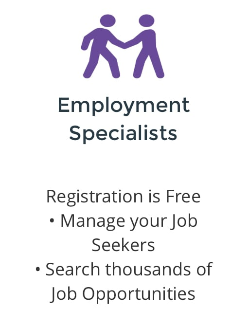 CLICK TO JOIN OUR TEAM OF EMPLOYMENT SPECIALISTS