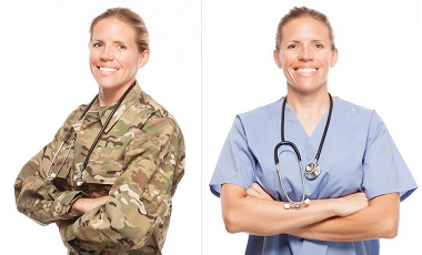 Medical Servicewoman to Civilian Medical Professional