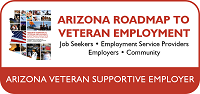 Arizona Veteran Supportive Employer Badge