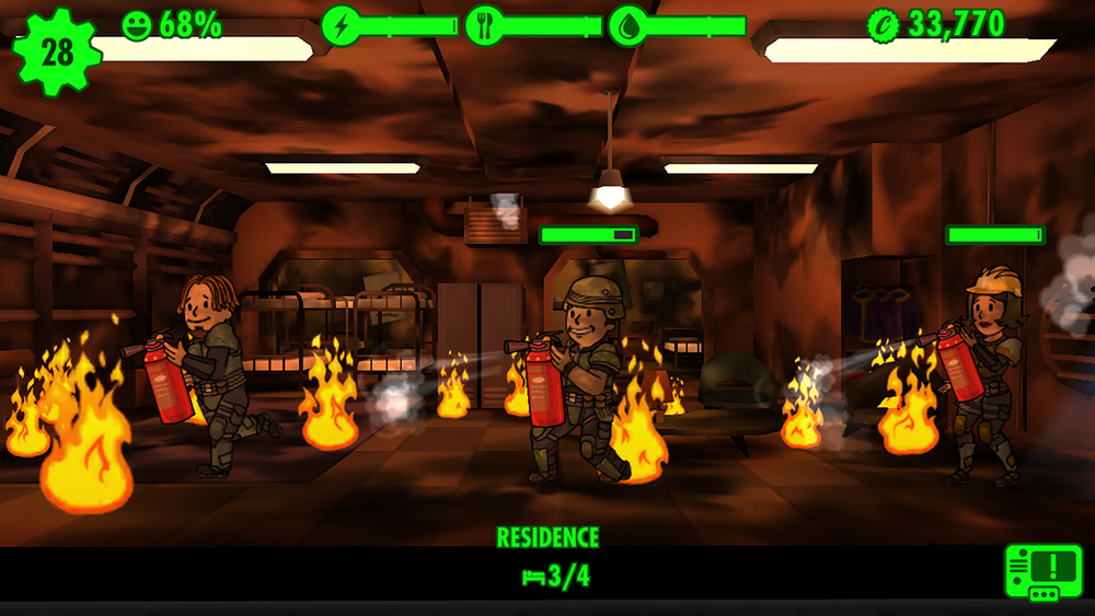 Screenshot from Bethesda Softworks site for Fallout Shelter
