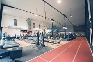 Gym running track