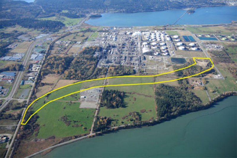 East Gate Rail Project (Credit: Shell Puget Sound Refinery)