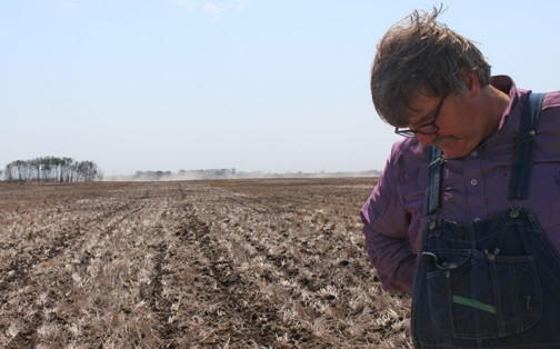 Landowners must continue to pay taxes on their barren fields. (Credit:  Laura Gottesdeiner )