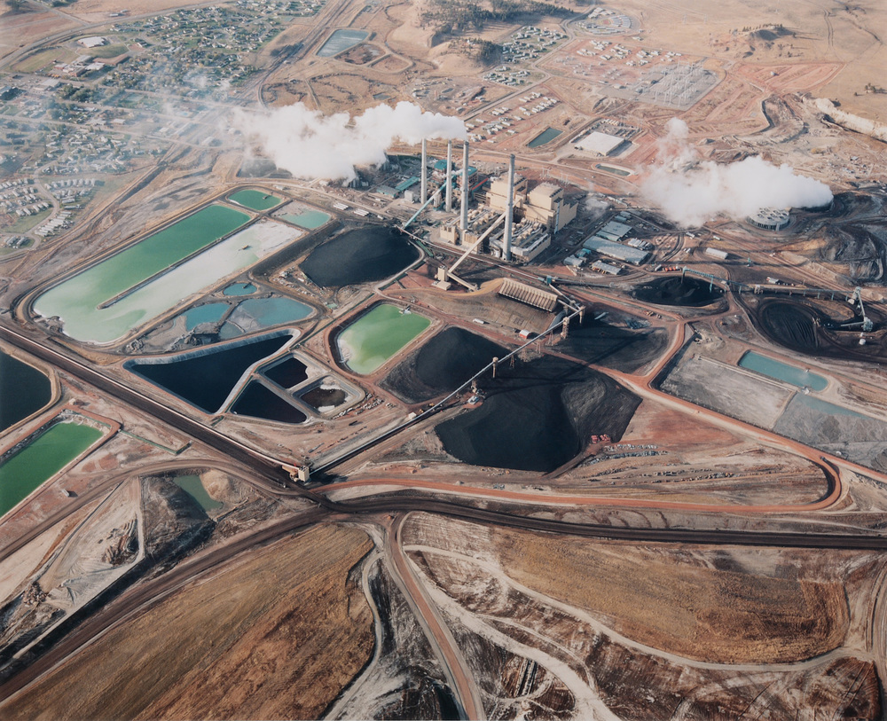 Colstrip coal plant near Northern Cheyenne Territory (Credit:  David T. Handson )