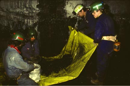 An underground coal mine (Credit: U.S. Department of the Interior, U.S. Geological Survey)