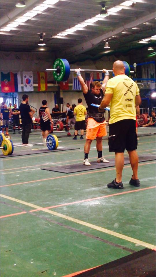 125kg Thrusters From the Floor at SHWARTZ 2016