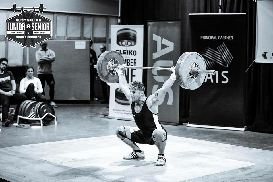 I remember the first time I dropped a snatch on my head. I was 20, in the back room at mingara with my mate. We maxed out at 75kgs and I tweaked my elbow pretty bad and both knees hit the ground on the lift.  From there to here was simple. Not easy, but simple. Do the right movement one thousand times. Do it light. Do it right. 2016 nationals was also a less than enjoyable experience such as those first so called 'heavy' lifts back at mingara. But it was clean and it was the best I could do for me on that day, at that time, in that moment.  Besides all that, In its' entirety I adore lifting. Im at peace. Im dancing the only dance l know.