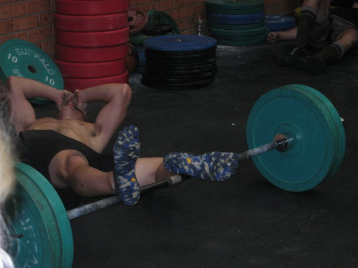 Yep 2009 that was CrossFit footwear….