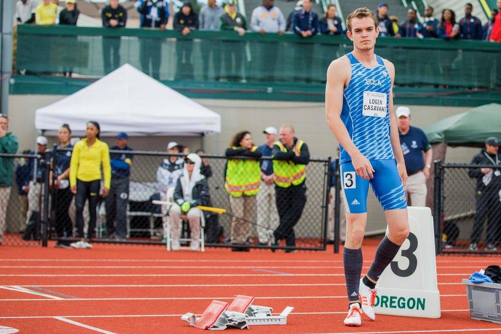 Brother Logen Casavant, UCLA Track