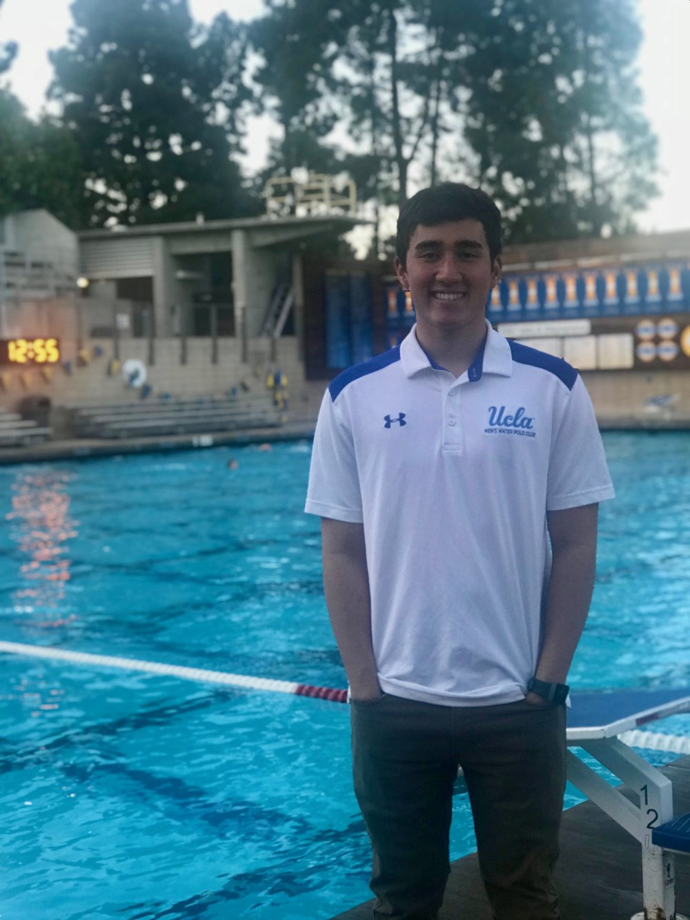 Brother JR Beck, Water Polo