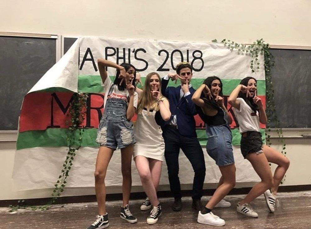 Brother Aram Krakirian, Alpha Phi's 2018 Mr. Greek