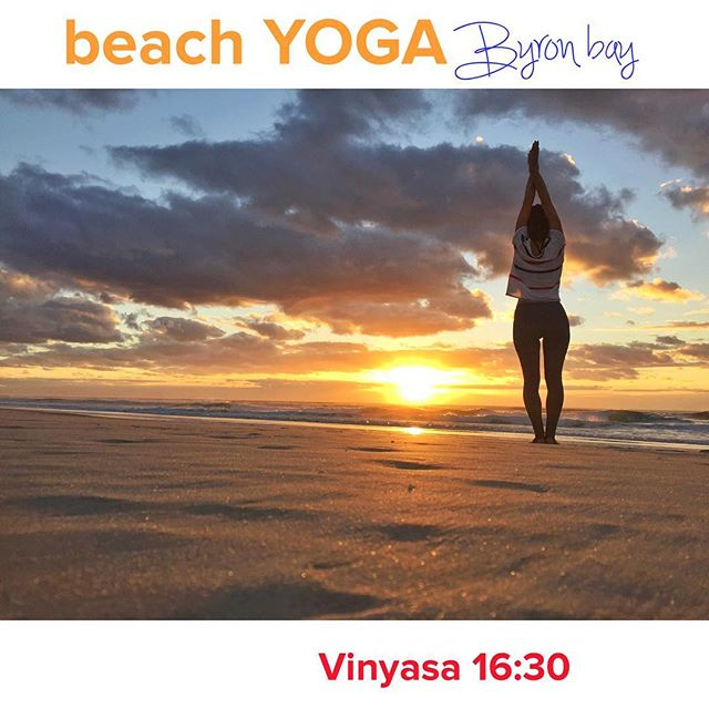Come and move with the flow! Today teaching at my @paulapira class  All level welcome @beachyogabyron 👉16:30 main beach - #ByronBay . . #byronyoga #byronbayyoga #YogaAustralia #sunsetyoga #mainbeachbyron #yogaeverydamnday