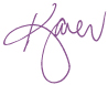 Karen's signature