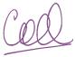 Coral's signature