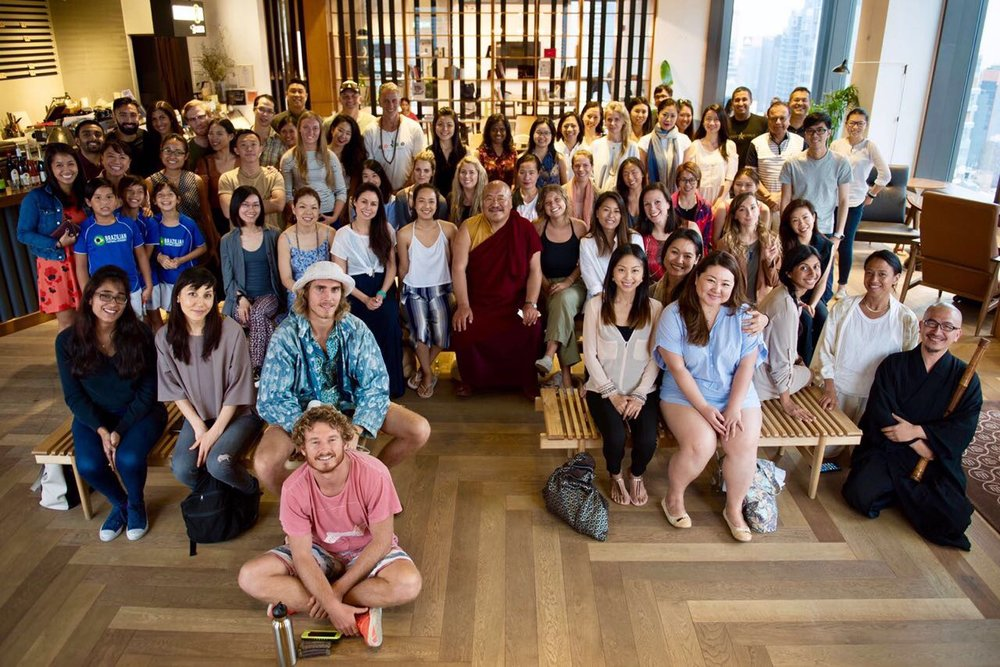 May 2017, Hong Kong. IRIS Insider 2018 presented by Khenpo Lungtaen Gyatso at Metta, Hong Kong.