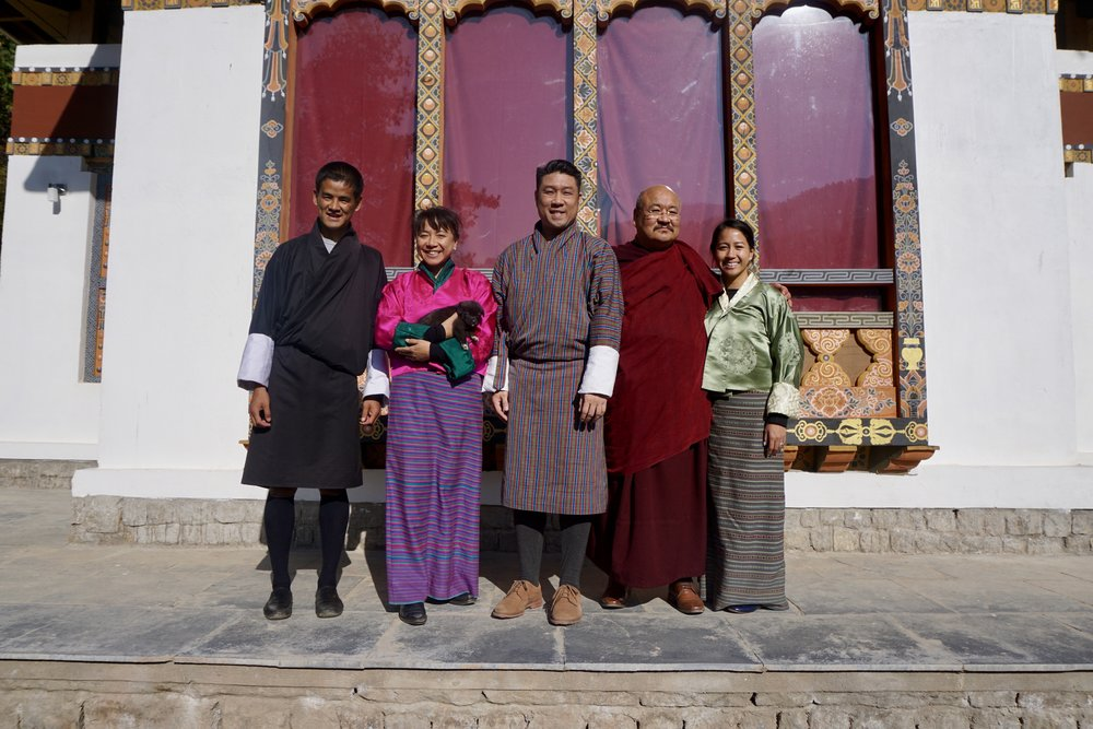 November 2017, Bhutan. {embrace} worldwide is honoured to be the first international guests welcomed at the  Institute of Wellbeing . Thank you to Khenpo Lungtaen Gyatso and Dasho Pema Thinley for your kind hospitality.