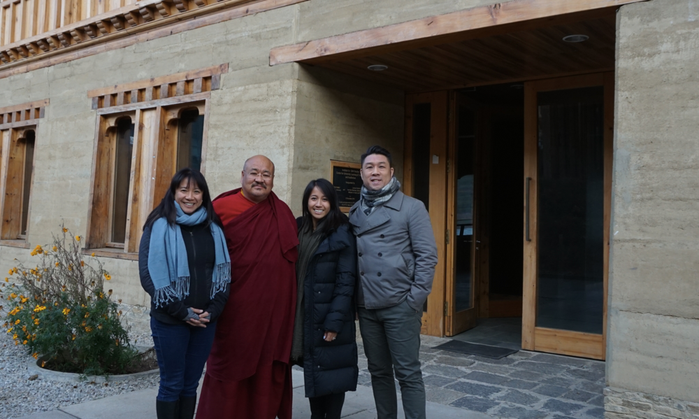 November 2017, Bhutan. Khenpo Lungtaen Gyatso delivers a week-long workshop on Universal Human Values to the {embrace} worldwide team at The Royal University of Bhutan.