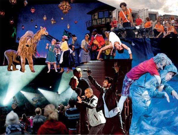 Illustrasjon fra Stortingsmelding nr. 10, 2011-2012, Kultur, inkludering og deltaking