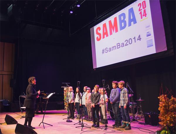 Elever ved Bodø kulturskole åpner konferansen Foto: Frida Bringslimark