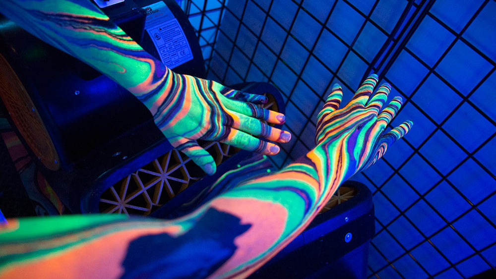 Black Light Arm Paint
